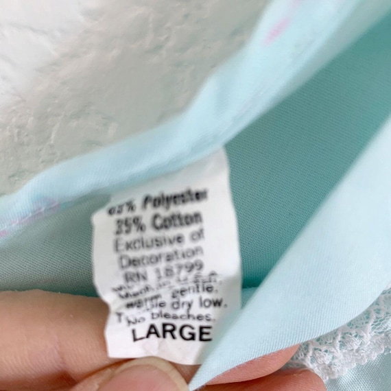 Vintage Danni New York Nightgown Set, Peignoir Se… - image 10