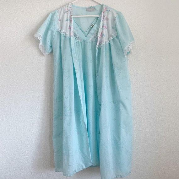 Vintage Danni New York Nightgown Set, Peignoir Se… - image 8