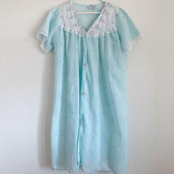 Vintage Danni New York Nightgown Set, Peignoir Set