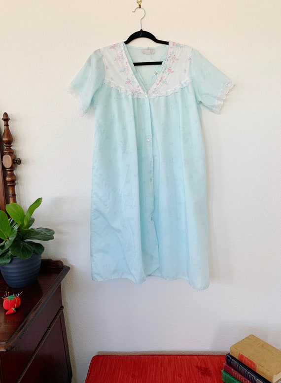 Vintage Danni New York Nightgown Set, Peignoir Se… - image 2