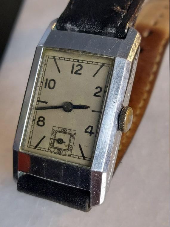 Vintage Pinnacle Art Deco Watch