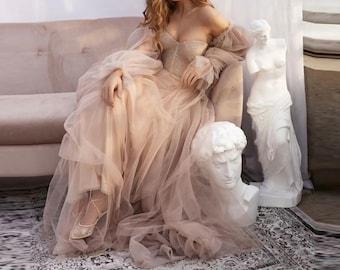 Vintage Romantic Gown