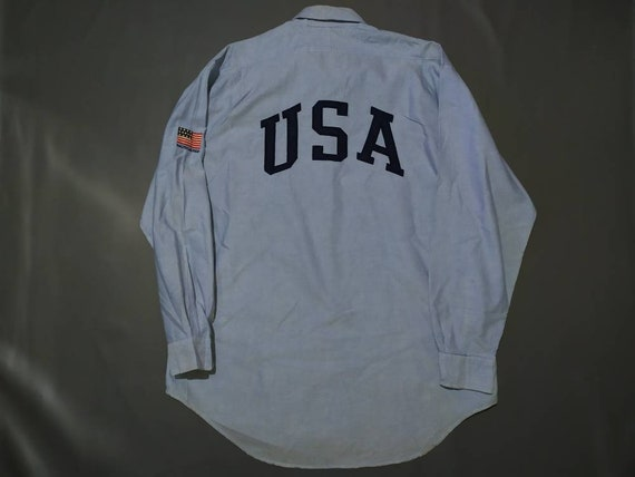 Polo Sport ralph lauren vintage 90s USA big logo