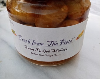 Sweet Pickled Shallots