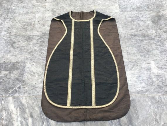 Antique chasuble Jacket Religions Cloth Unisex Jac