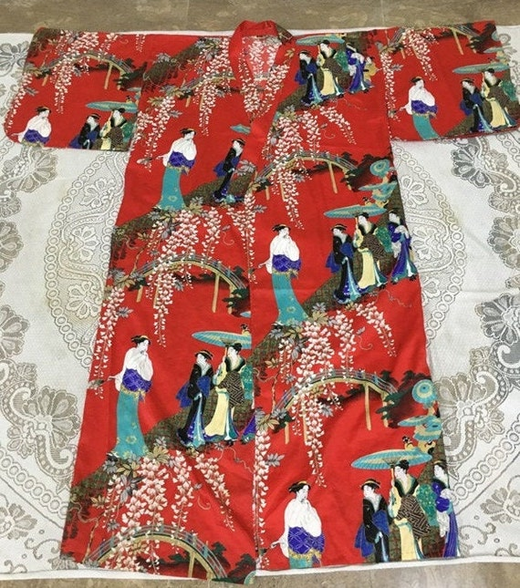 Reserve For Carmen Antique Chinese Robe Handmade … - image 1