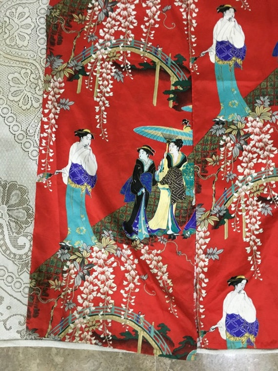Reserve For Carmen Antique Chinese Robe Handmade … - image 2