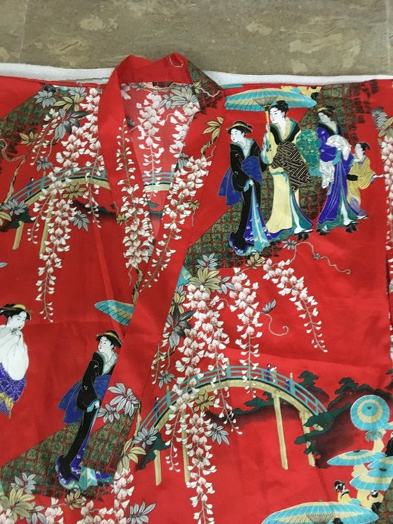 Reserve For Carmen Antique Chinese Robe Handmade … - image 4