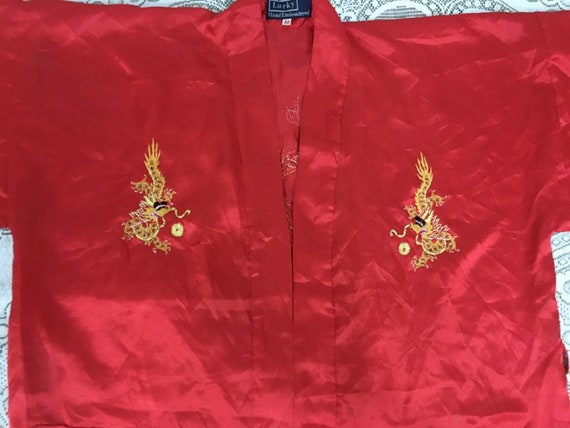 19th Century Antique Chinese Robe Hand Embroidery… - image 3