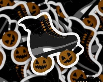Halloween Roller Skate | Quad Skate | Vinyl Sticker