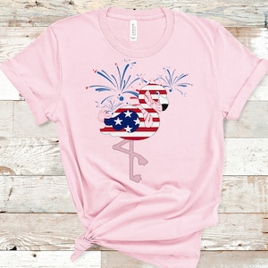 Stand Tall Darling raglan tee Baseball Tee daughter gift flamingo tee flamingo gift friend gift