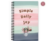 PLANT LOVER | Simple Daily Joy | Journal Notebook |  Perfect Gift !