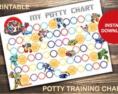 Transformers Rescue Bots Printable Potty Training Chart