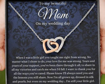 Personalized Mommy Necklace Couple/'s necklace Mother/'s Necklace Bride Gift Gift for Wife Wedding Gift