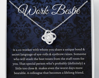 Work bestie work friend colleague friendship bracelet