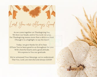 Thanksgiving Poetry Card, 8.5x5.5 inch, Thanksgiving Poetry Digital, Thanksgiving Card Digital, Thanksgiving Gift Card, Thanksgiving Digital