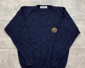 Burberry 39 s vintage crewneck sweater chest logo