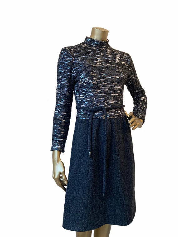 CHRISTIAN DIOR haute couture knitted dress, Autumn