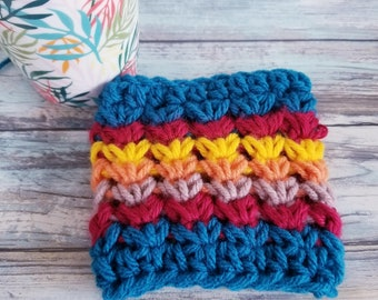 Coffee Cup Cozy   Koozie   Gift for Her