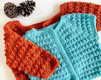 Crochet Bolero for Women   Chunky Knit Shrug for Dresses