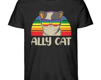 Pride T-Shirt / UNISEX Rainbow T-Shirt / Pride Gift / LGBT Flag Tshirt / Gay Pride / Sweet LGBTQ Shirt- Premium Organic Cotton