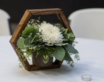 Wooden Centerpieces Etsy