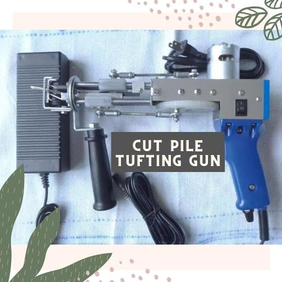 AK-I Cut Pile Tufting Gun - Tufting Machine Gun - Hand Tufting - Carpet Gun
