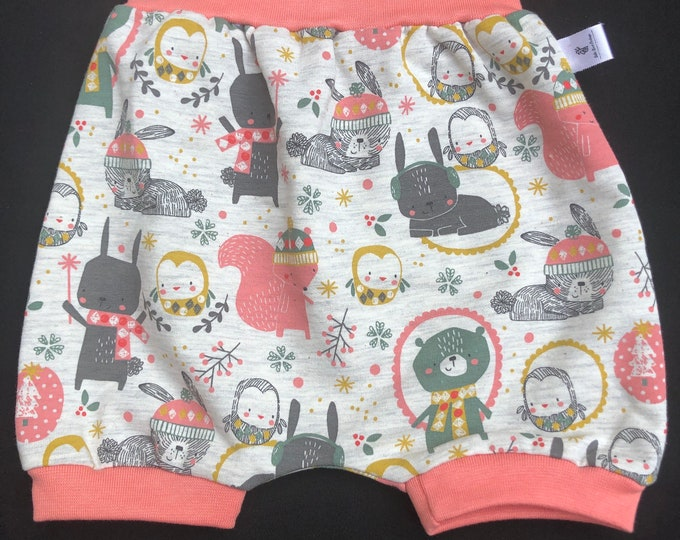 1/6-month scalable sarouel shorts