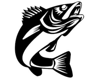 Download Walleye Fishing Svg Etsy
