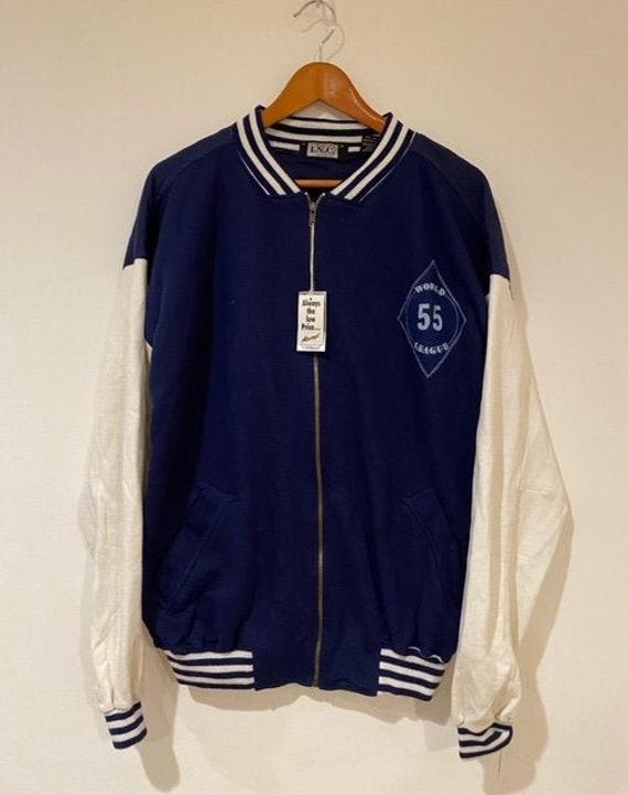 Vintage 1990s I.N.C Concepts Bomber Sweater