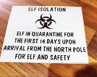 Elf Sticker Etsy