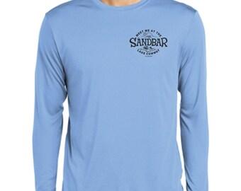 Meet Me At the Sandbar Travel Lake Shirt Lakehouse Summer Vacation Lake Winnipesaukee Next Level Racerback Tank Top Athletic Shirt