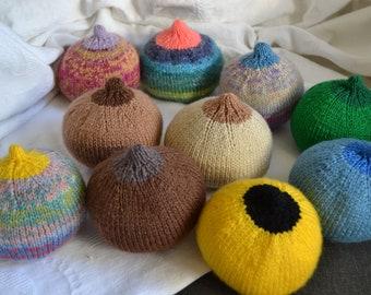 Knitted Breast Flesh Tone, Cartoon or multicoloured