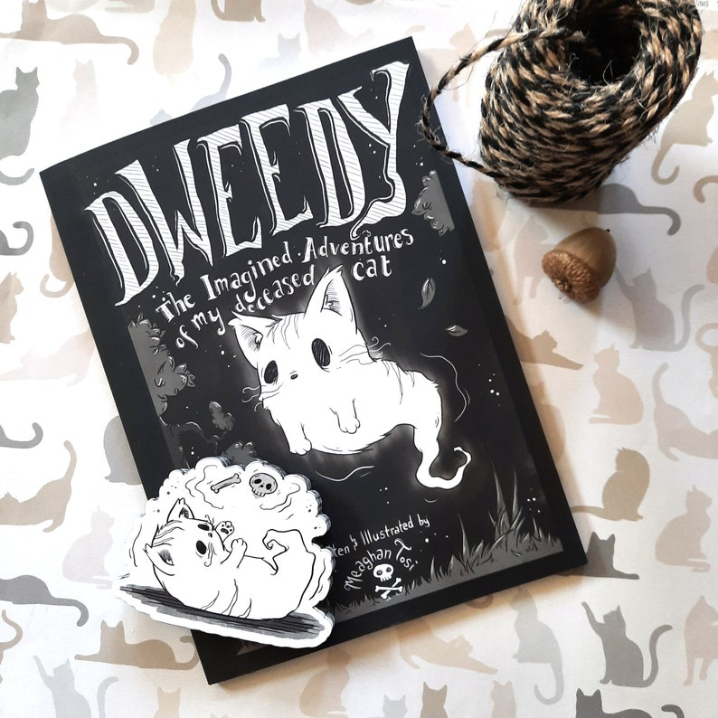 Dweedy: The Imagined Adventures of my Deceased Cat Comic image 0