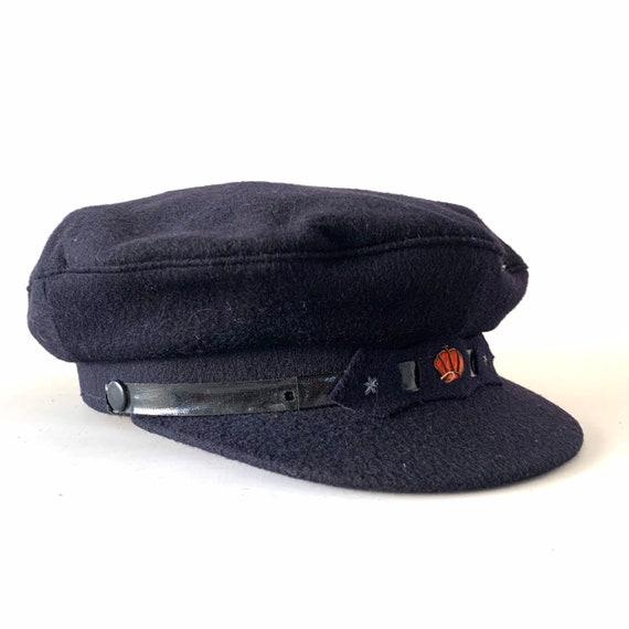 Vintage Captain Hat - The Roos Cap - European Size