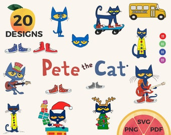 Pete the Cat Saves Christmas Book Companion by Speech Glam   TpT