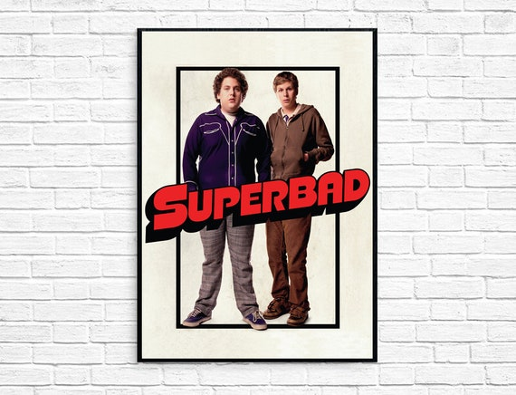 Superbad 2007 Movie Cover Poster Etsy