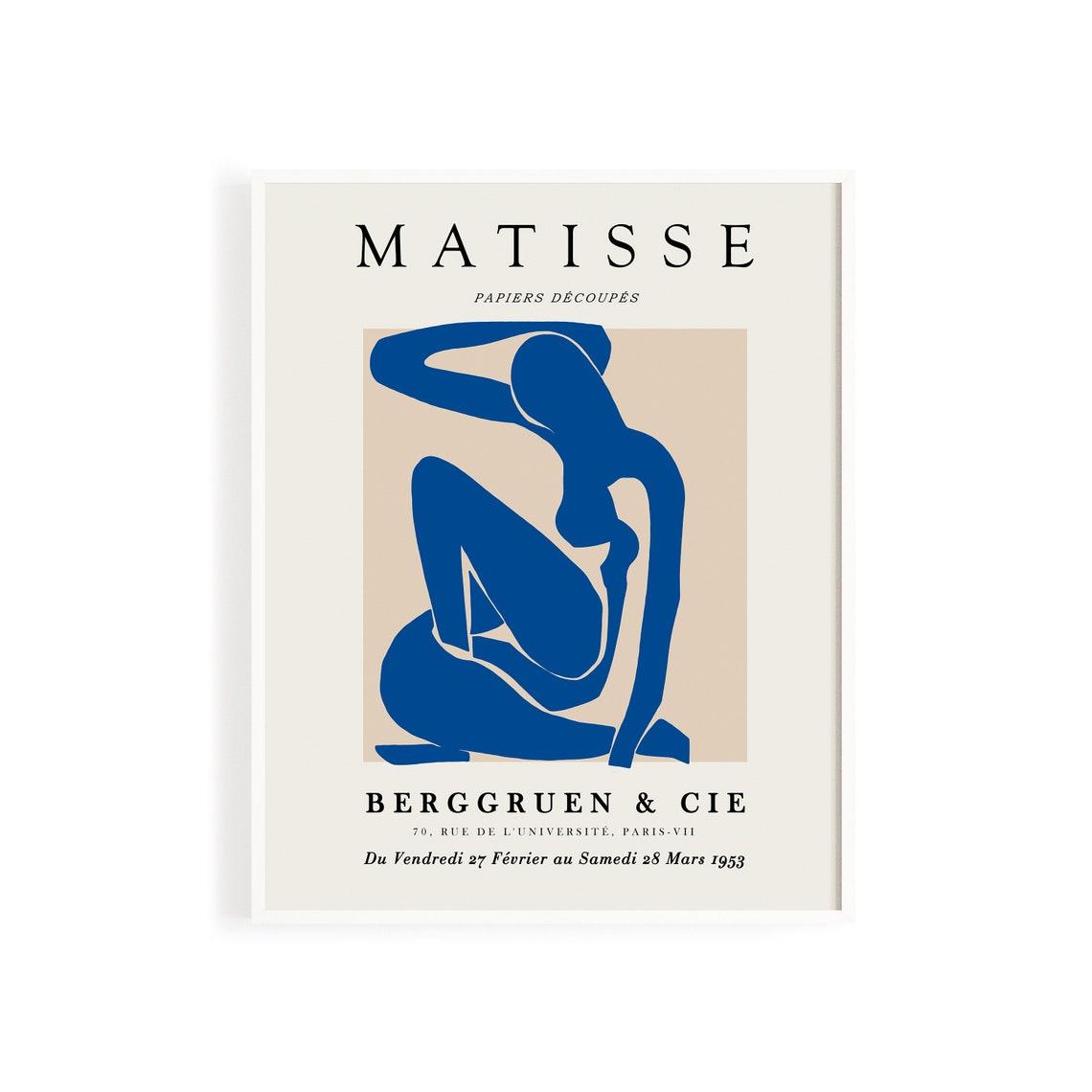 Henri Matisse Poster / Matisse Ausstellung Poster / Henri