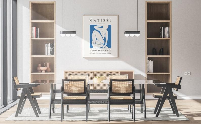 Henri Matisse Blue Nude Terracotta Exhibition Poster