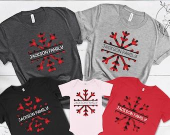 Matching Family Christmas Shirts, Christmas Shirts,Custom Family Shirts,Family Photoshoot Shirts,Personalized Christmas Gift,Christmas Gifts
