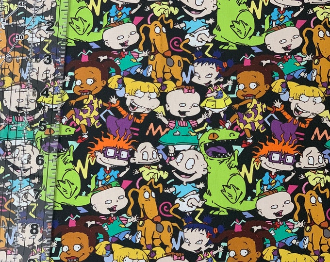 Rugrats IN STOCK 100/% Cotton Woven Fabric