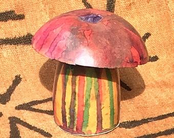 Mushroom gourd shaker