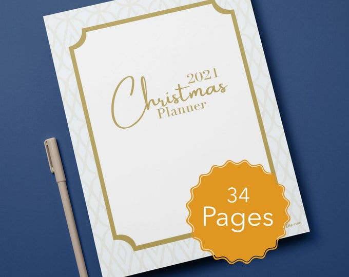 Christmas Planner Binder, Budget Sheets, To Do Lists, Check off Lists, Planners
