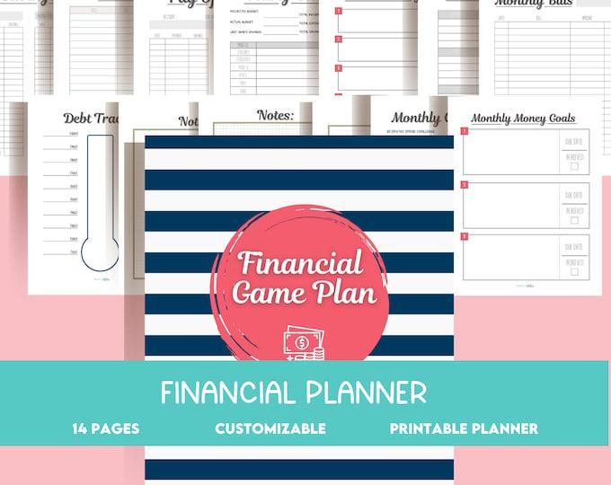 Family Financial Binder | Family Budget Planner | Budget Binder