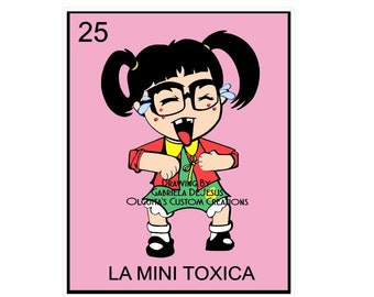 25 La Mini Toxica PNG/la Mini Toxica Chilindrina PNG/Chilindrina PNG/La Toxica Png/Jpeg/Loteria png/Chilindrina/Mini Chilindrina/Mini Toxica