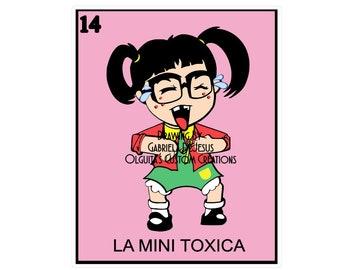 La Mini Toxica PNG/la Mini Toxica Chilindrina PNG/Chilindrina PNG/La Toxica Png/Jpeg/Loteria png/Chilindrin/Mini Chilindrina/Mini Toxica