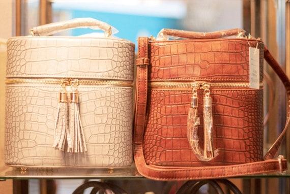 Cowgirl shoulder bag/ purse snake print