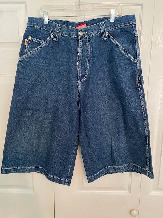 Vintage Kikwear ultra baggy shorts