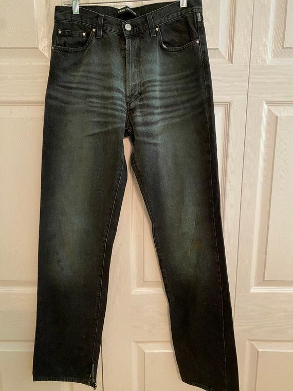 Vintage Versace Jeans Couture blue jeans mid 1990s