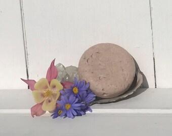Flower Powered Detoxifying Rose Shampoo Bar - Vegan - 80g